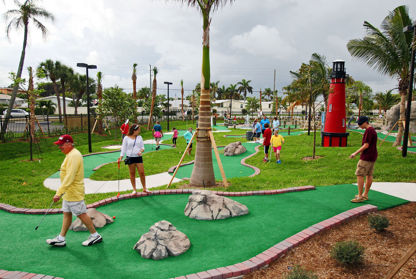 AdventureMiniGolf_PalmBeach - palm beach